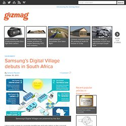Samsung's Digital Village debuts in South Africa