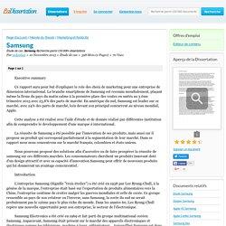 Samsung - Étude de cas - cedced44