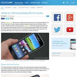 Hands on: Samsung Galaxy S5 mini review