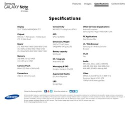 Samsung GALAXY Note 10.1 (2014 Edition) - Design your life