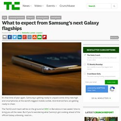 Samsung Galaxy S9/S9+: What to expect from its next flagships