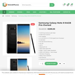 Samsung Galaxy Note 8 64GB Pre-Owned