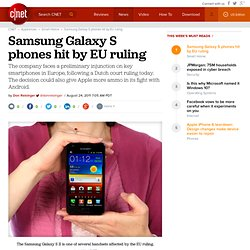 Samsung Galaxy handsets hit by EU ruling | The Digital Home