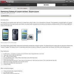 Samsung Galaxy K zoom review: Zoom-zoom