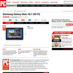 Samsung Galaxy Note 10.1 (Wi-Fi) Review & Rating