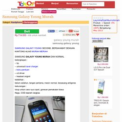 Samsung Galaxy Young Murah