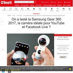 Samsung Gear 360 (2017) : le test complet - 01net.com