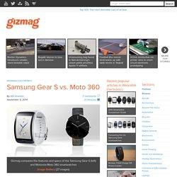 Samsung Gear S vs. Moto 360