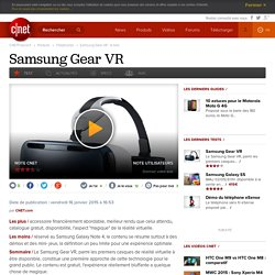 Samsung Gear VR : le test