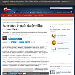 Samsung : bientôt des lentilles connectées ? - ZDNet