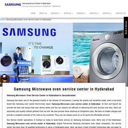 Samsung Microwave oven service center in Hyderabad