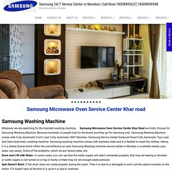 Samsung Microwave Oven Service Center Khar road