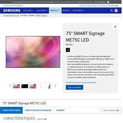 Samsung Moniteur ME75C (LH75MECPLGC/EN) le moniteur grande taille Samsung
