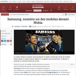Samsung, numéro un des mobiles devant Nokia