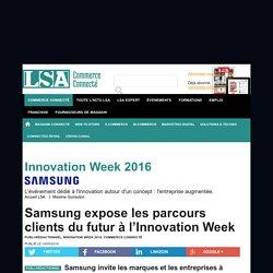 Samsung expose les parcours clients du futur...