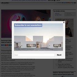 Samsung creates Resonance installation at Milan design week 2019
