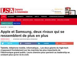 Apple et Samsung, deux rivaux qui se... - Marché Multimédia