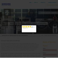Samsung ac repair service Secunderabad - SAMSUNG SERVICES
