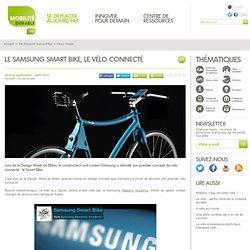 Le Samsung Smart Bike, le vélo connecté