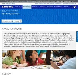 Samsung School : solution de gestion de classe numérique