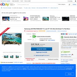 Samsung UE75RU7090UXZT Tv Led 75'' 4K Ultra Hd Smart Tv Flat Nero