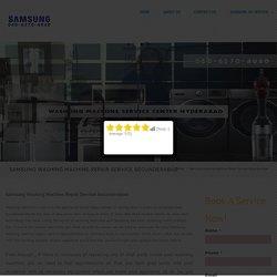 Samsung Washing Machine Repair Service Secunderabad - SAMSUNG Service