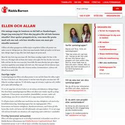 Samtalsgrupp Ellen och Allan - Rädda Barnen