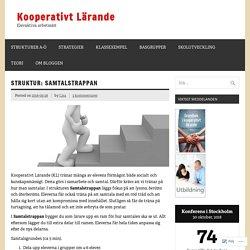 Struktur: Samtalstrappan – Kooperativt Lärande