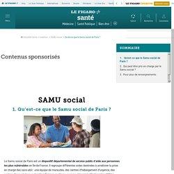 SAMU social - Qu'est-ce que le Samu social de Paris ? - Fiches