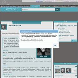 Samuel Beckett et sa pièce En attendant Godot