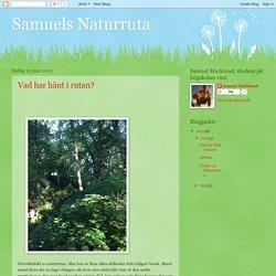 Samuels Naturruta: juni 2015