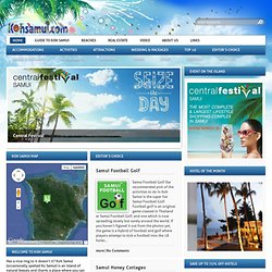 Koh Samui hotels and resorts - accommodation and hotel information