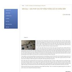 Sàn IGlu - Giải pháp cho hệ thống thông gió và chống nồm