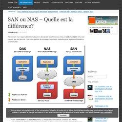 SAN ou NAS - Quelle est la différence?