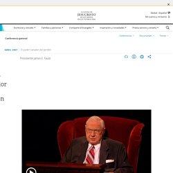 El poder sanador del perdón - James E. Faust - lds.org