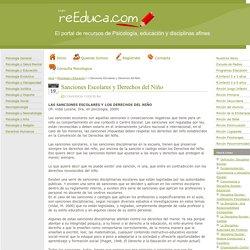 Sanciones Escolares y Derechos del Niño