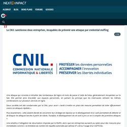 La CNIL sanctionne deux entreprises, incapables de prévenir une attaque par credential stuffing