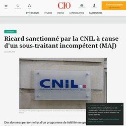 La CNIL inflige une sanction à Ricard pour défaut de sécurité