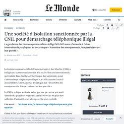 Une société d'isolation sanctionnée par la CNIL pour démarchage téléphonique illégal