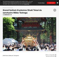 Grand festival d'automne Shuki Taisai du sanctuaire Nikko Toshogu