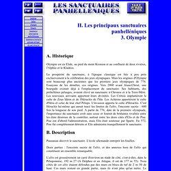 Sanctuaires panhelléniques - II,3 - Olympie