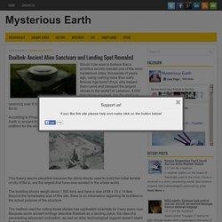 Baalbek: Ancient Alien Sanctuary and Landing Spot Revealed