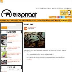 Sand Art Video