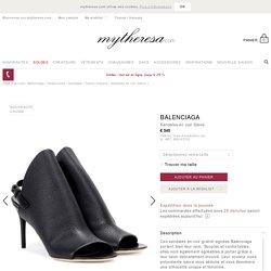 Sandales en cuir Glove