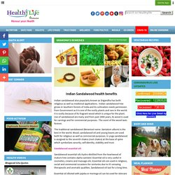 Indian Sandalwood Health Care Tips