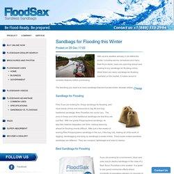 Sandbags floods – FloodSax Americas