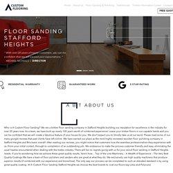 Floor Sanding Stafford Heights