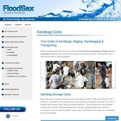 Sandless Sandbags Home Depot – FloodSax Americas