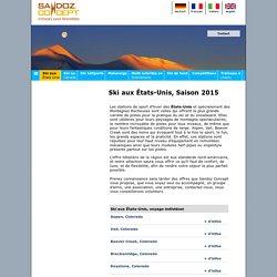 Sandoz concept,voyages aux sports d'hiver,ski alpin,usa,états-unis
