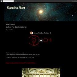 Sandra Barr: Jo Cox The Sacrificial Lamb